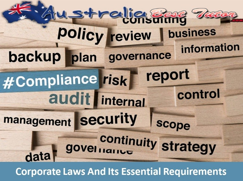 Corporate Laws And Its Essential Requirements