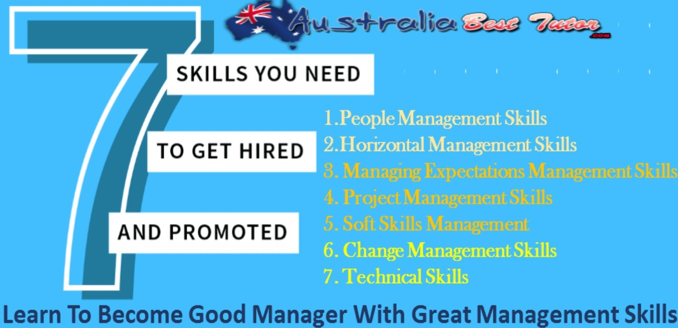 Learn To Become Good Manager With Great Management Skills
