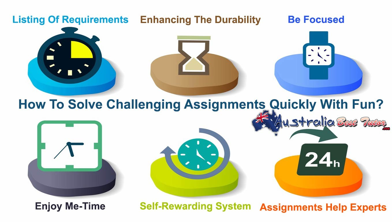 How To Solve Challenging Assignments Quickly With Fun?
