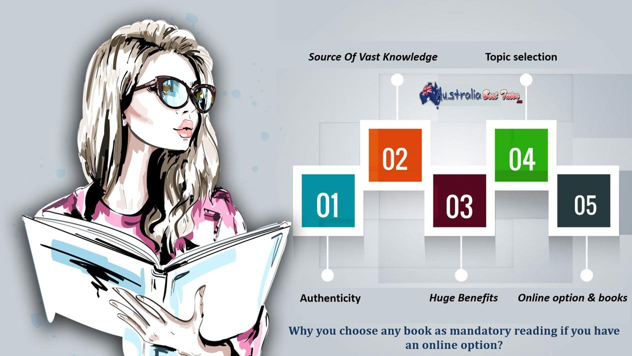 Why You Choose Any Book As Mandatory Reading If You Have An Online Option?