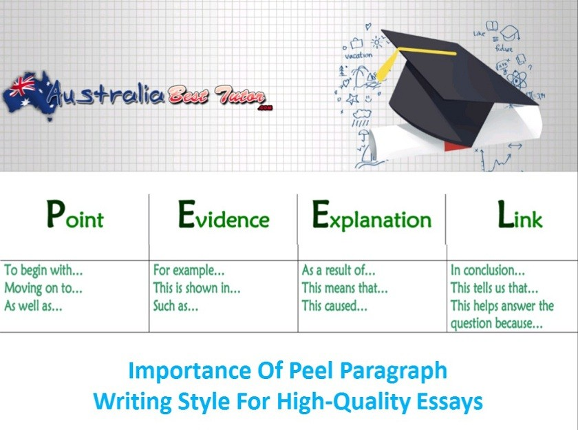 Importance Of Peel Paragraph Writing Style For High-Quality Essays